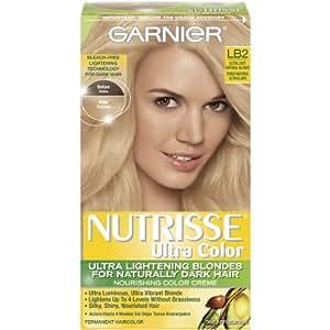 Garnier Nutrisse Ultra Color Nourishing Color Creme, LB2 Ultra Light Natural Blonde