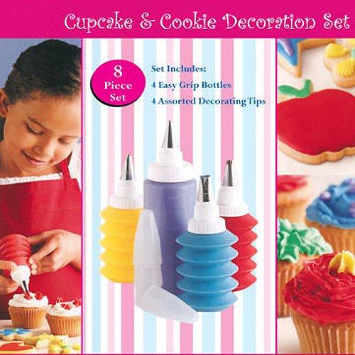 CostMad TM 8 Piece Baking Cupcake Birthday Wedding