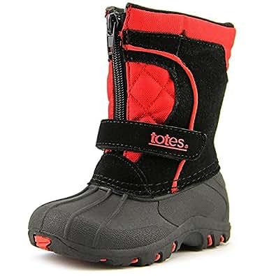 Amazon.com: Totes Jason Youth Boys Winter Boots (8M US