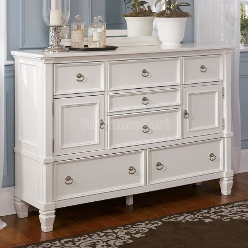 now cottage style white prentice bedroom dresser furniture dressers