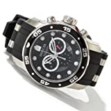 "Invicta Mens 6977 ""Pro Diver Collection"" Stainless Steel and Black Polyurethane Watch"