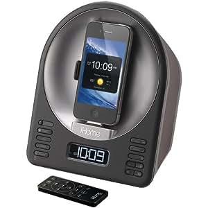 iHome iA63 App-Enhanced 30-Pin iPod/iPhone Alarm Clock Speaker Dock