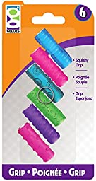 Perfect Cents 6 Count Textreme Squishy Grips (6 Pieces) - Perfect Cents 6 Count Textreme Squishy Grips. Stretches To Fit Pencils, Pens, Markers & Highlighters. Assortment Contains Ten Designs In Five