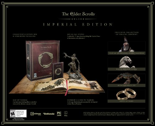 New The Elder Scrolls Online: Imperial Edition - PC/Mac