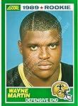 1989 Score #248 Wayne Martin