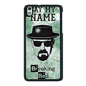 Jugaaduu Breaking Bad Heisenberg Back Cover Case For HTC Desire 816