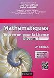Mathématiques Tout-en-un pour la Licence - Niveau L1 - 2e édition: Cours complet, exemples et exercices corrigés