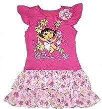 Nickelodeon Dora The Explorer Toddler Girl Dress Tunic