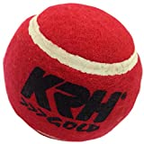 KRH Unisex Cricket Tennis Ball - Standard (Maroon) Pack Of 6