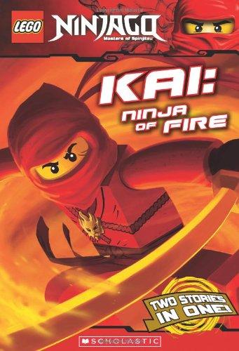 Kai, Ninja of Fire (LEGO Ninjago: Chapter Book), by Scholastic, Greg Farshtey