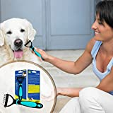 DakPets Professional Double Sided Dog Brush and Cat Brush