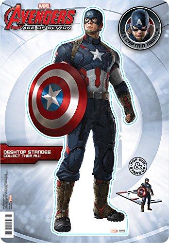 Aquarius Avengers 2 Captain America Desktop Standee - 1