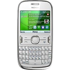 Nokia 302 Asha Smartphone HSUPA/HSDPA/GPRS/EGPRS 3,5 G Wi-Fi Blanc