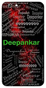 Deepankar (One Who Lights Lamps) Name & Sign Printed All over customize & Personalized!! Protective back cover for your Smart Phone : Samsung Galaxy S5mini / G800
