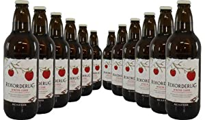 Rekorderlig Winter Cider Apple-Cinnamon-Vanilla - 12 x 500ml
