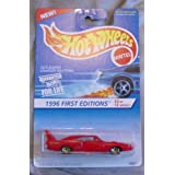 Hot Wheels 1996 First Editions #3 1970 Dodge Charger Daytona 3/12 Collector #382 RED