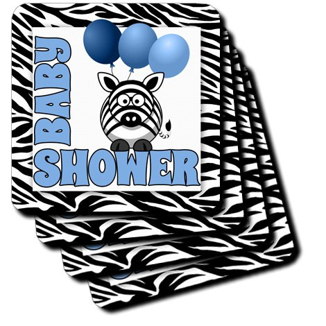 Baby Shower Zebra Print Decorations front-1022839