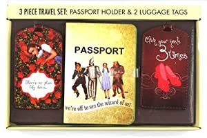 Wizard Of Oz Passport Travel Set