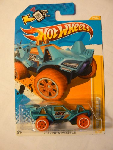 Hot Wheels 2012 New Models (19/50) Blue Quicksand 19/247 - 1