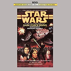 Star Wars: The Thrawn Trilogy, Book 2: Dark Force Rising Audiobook