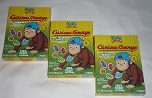 Amazon.com: (3 Pack) Curious George Fruit Snacks