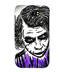 GADGET LOOKS PRINTED BACK COVER FOR MICROMAX CANVAS A110 MULTICOLOR