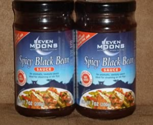 Seven Moons Chinese Spicy Black Bean Sauce (2 Pack)