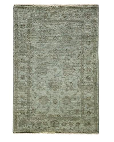 "Solo Rugs Ziegler One-of-a-Kind Rug, Light Blue, 3' x 4' 10"" 4"