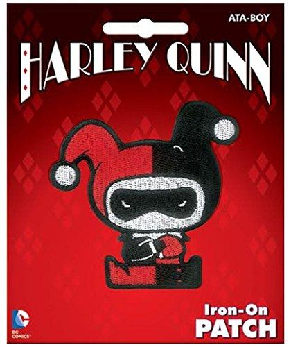 Ata-Boy DC Comics-Harley Quinn Chibi Iron-On Patch