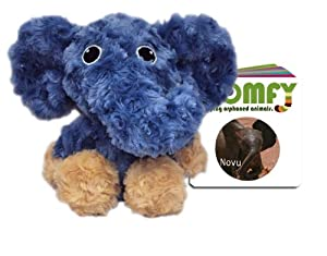 Baby Elephant Blue Plush and Board Book
