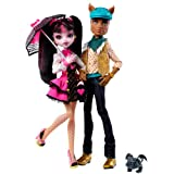 Monster High Draculaura and Clawd Wolf Pack ACCESORIOS