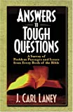 img - for Answers to Tough Questions: A Survey of Problem Passages and Issues book / textbook / text book