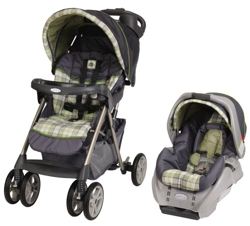 Cheap Graco Alano Classic Connect Travel System, Roman