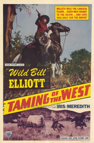The Taming Of The West front-1062136