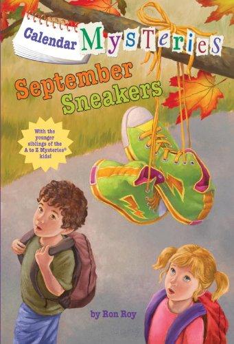 Calendar Mysteries #9: September Sneakers (A Stepping Stone Book(TM))