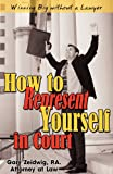 How to Represent Yourself in Court