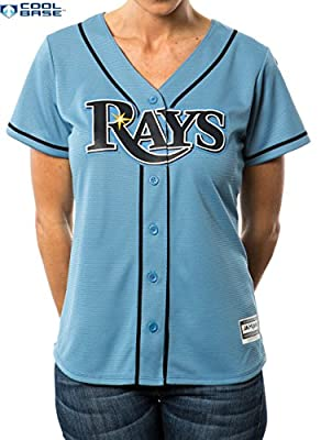 Tampa Bay Rays MLB Women's Cool Base Alternate Jersey Blue