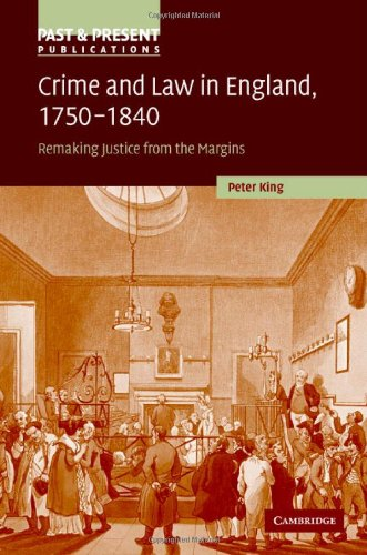 Stephen King - Crime and Law in England, 1750-1840