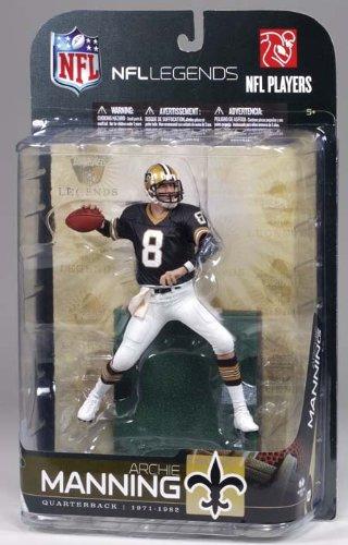 NFL Legends Series 5 Figure Archie Manning New Orleans Saints