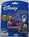 Disney Classic Pull Toy Keychain -- Donald Duck