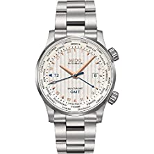buy Mido M0059291103100 Multifort Mens Watch - White Dial Stainless Steel Case Automatic Movement