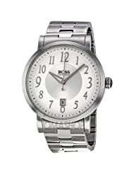 Hugo Boss Silver Dial Stainless Steel Mens Watch HB1512179
