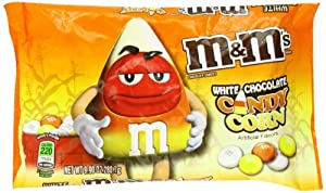 M&Ms Candy Corn White Chocolate Candies, 9.9-Ounce