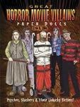 Great Horror Movie Villains Paper Dol...