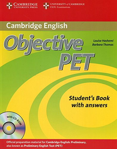 Objective PET 2nd Student's Book with answers with CD-ROM