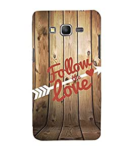 Follow the Love 3D Hard Polycarbonate Designer Back Case Cover for Samsung Galaxy Grand Prime :: Samsung Galaxy Grand Prime Duos :: Samsung Galaxy Grand Prime G530F G530FZ G530Y G530H G530FZ/DS
