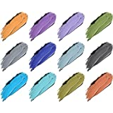 SHANY Cosmetics SHANY Masquerade Eyeliner Gel Color Smudge Proof Set 12 count
