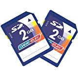 Samsung Digimax L60 Digital Camera Memory Card 2x 2GB Standard Secure Digital (SD) Memory Card (1 Twin Pack)