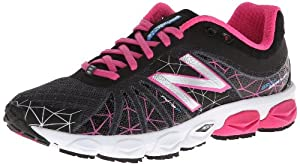 New Balance Women's W890 Running Shoe,Komen Pink,8 B US