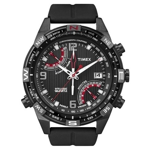 Timex IQ Fly-Back Chronograph T2N865 Silikon 